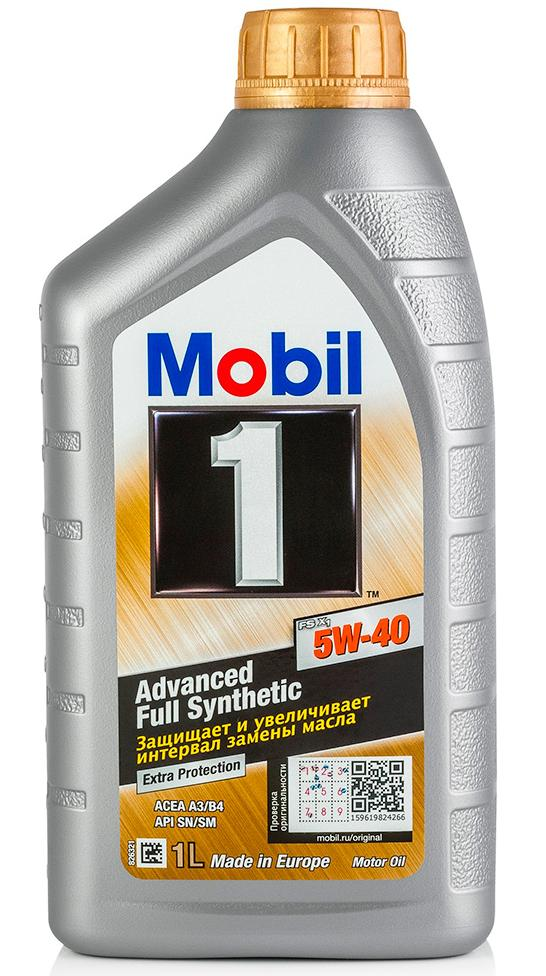 Моторное масло MOBIL 1 FS X1 SAE 5W-40 (1л)